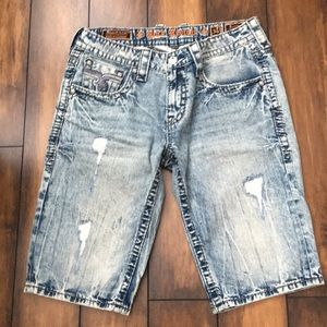 Men's jean shirts Rock Revival